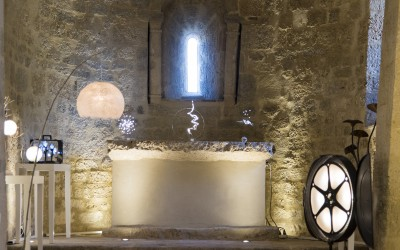 Exhibition in our Chapelle made by Maison des Métiers d'Art of Pézenas From 13th June to 27th August 2016