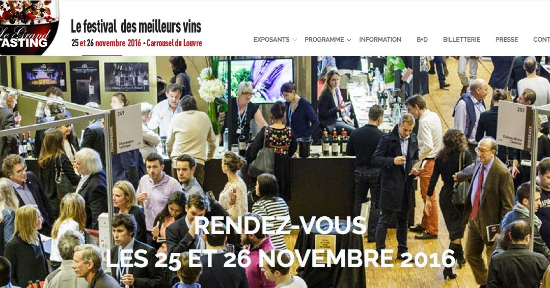 Le Grand Tasting Bettane et Desseauve 2016